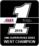 Aaron Plessinger 2018 250 SX Number 1 Plate