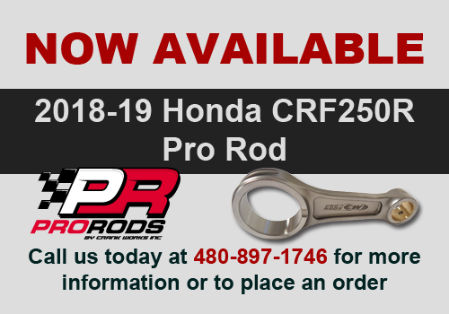 Now Available - 2018-19 CRF250R Pro Rods