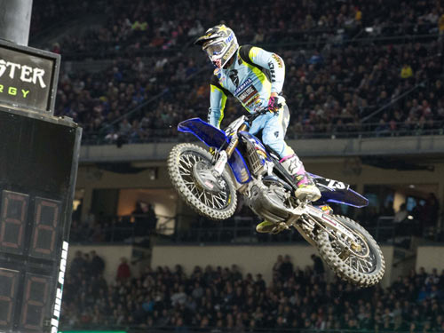 Aaron Plessinger Podiums at Anaheim!